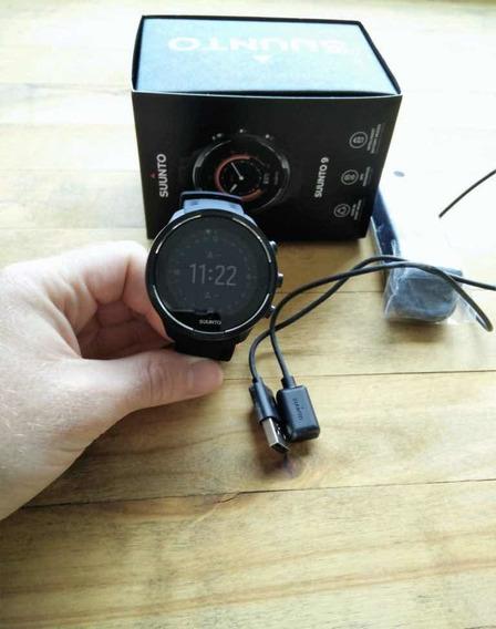 Suunto 9 Baro Black Wrist +hr Strap + (cinta Sensor) Novo