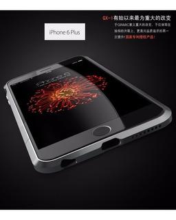 Bumper Aluminio Rapier Series iPhone 6 Plus+cristal Templado