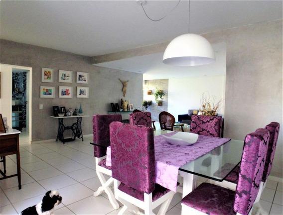Apartamento Com 3 Quartos (reversível) À Venda, 158 M² Por R$ 670.000 - Boa Viagem - Recife/pe - Ap2129