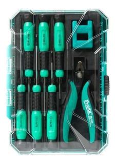 Kit Set Destornilladores Electrónicos Precisión Proskit 652