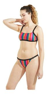 Bikini Top Y Colaless Distorsion 523-21 Sweet Victorian