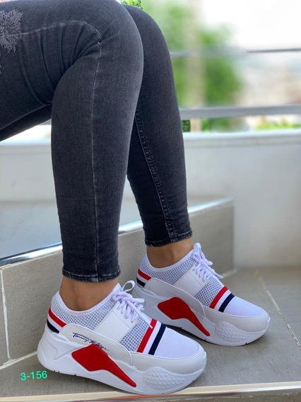 Zapatos Deportivos Tommy Hilfiger Para Damas