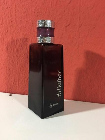 Vidro Perfume Malbec Vazio 13cm