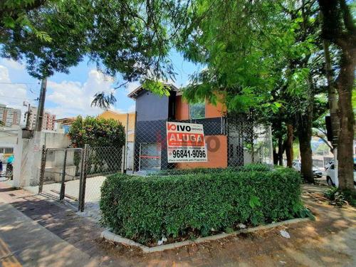 Imagem 1 de 30 de Sobrado Com 20 Salas Para Alugar, 550 M² Por R$ 19.000/mês - Vila Clementino - São Paulo/sp - So0662