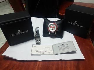 Reloj Jacques Lemans Edicion Limitada Soccer Mexico Chrono