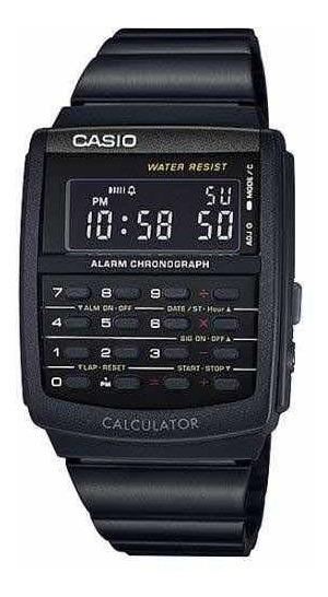 Relógio Casio Vintage Calculadora - Preto Ca-506-1adf