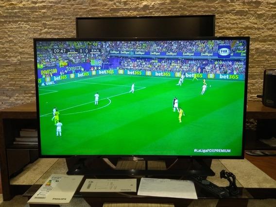 Tv Philips Led Full Hd Slim 43 Pmr 120 Hz Usb Hdmi 1080p