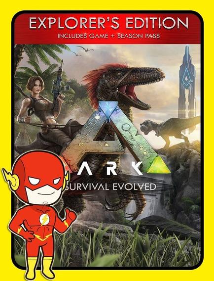Ark Survival Evolved Explorers Pc - Steam Key (envio Flash)