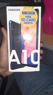 Samsung A10 32gb + 32gb Micro Sd Con Forro Adicional