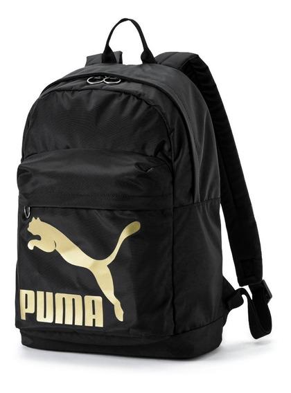 Mochila Puma Originals Neg/dor Unisex