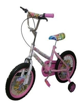 Bicicleta Clasica De Niña Rin 16.