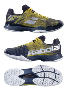 Tenis Babolat Jet Mach Ii Hombre Negro/amarillo Nuevo Modelo
