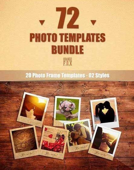 72 Templates Editáveis Para Photoshop(psd)