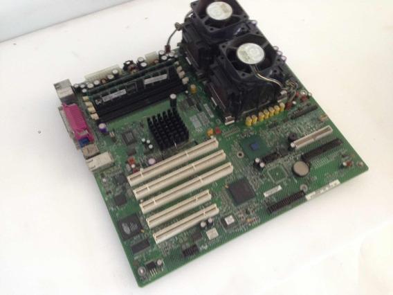 Kit Placa Mãe Serverboard - Se7501cw2 (processador Memória)