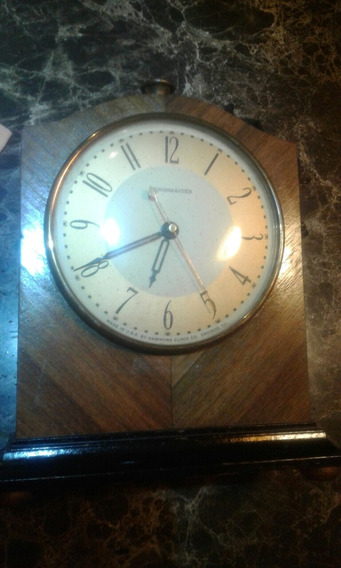 Reloj De Mesa De Los Años 20s Funcionando Marca Chronmaster