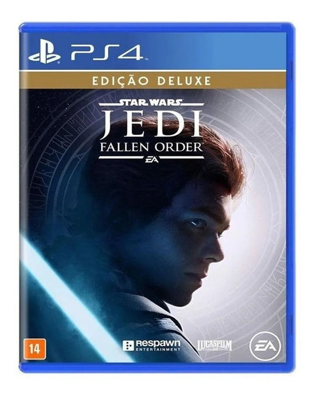 Star Wars Jedi Fallen Order Edição Deluxe Ps4 Mídia Física