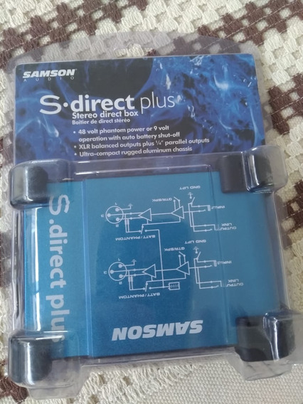 Direct Box Stereo Sansom Ativo!