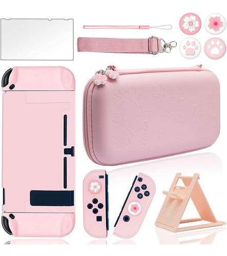 Imagen 1 de 8 de Kit De Acessórios De Viaje Juegos Para Nintendo Switch