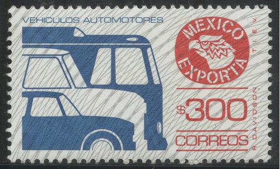 Mexico Serie Exporta $300 Autos Trama Invertida Nvo 125 Dls.