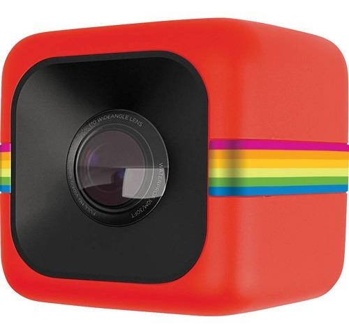 Câmera De Ação Polaroid Cube+ Full Hd Env Hoje Nfe Vermelho