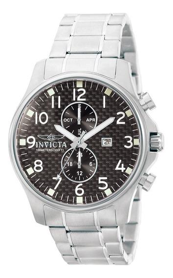 Relógio Invicta Masculino 0379 Ii Coleção Em Aço Inoxidável
