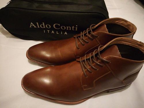 Sustancial Tentación manejo  Zapatos Cafe #29 Solamente Aldo Conti Botines | Mercado Libre