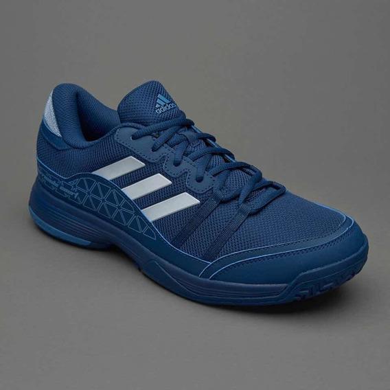 Zapatillas adidas Barricade Court Tenis Hombre Color Azul