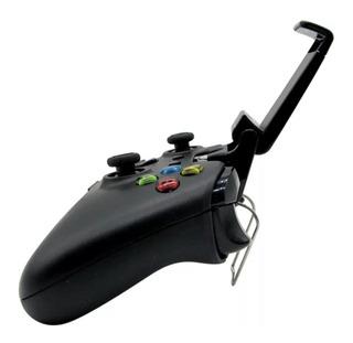 Clip Soporte Celular Para Control Xbox One + 4 Gomas Pro