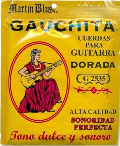 Martin Blust Gauchita Encordado Para Guitarra Criolla
