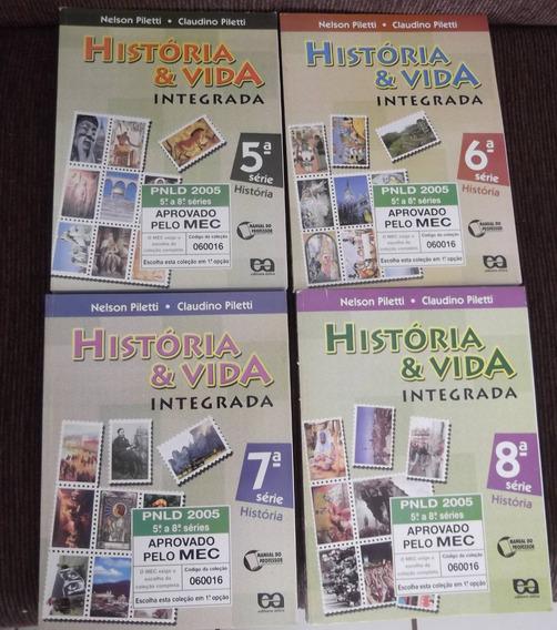 Kit Livros Didáticos Professor História Ática Moderna Ftd Sm