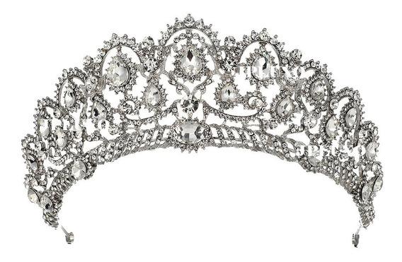 Coroa Tiara Noiva Debutante 15anos Tiara Pente Princesa Miss