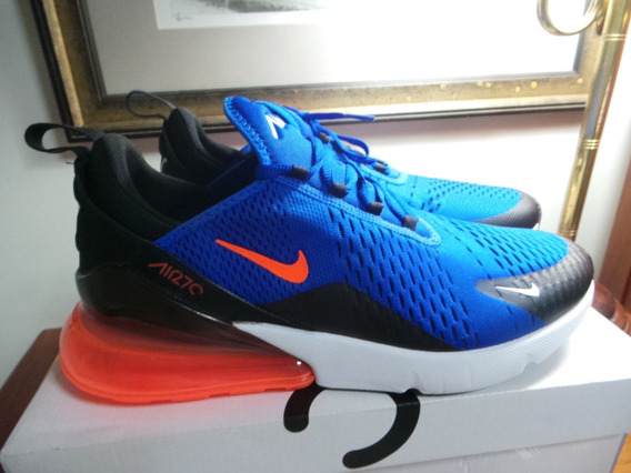Tenis Nike Air 270 Blue Racer Frete Grátis