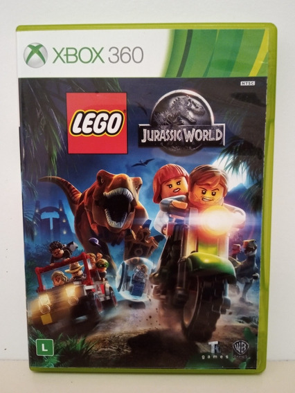 Lego Jurassic World Xbox 360 Midia Física Original P/entrega