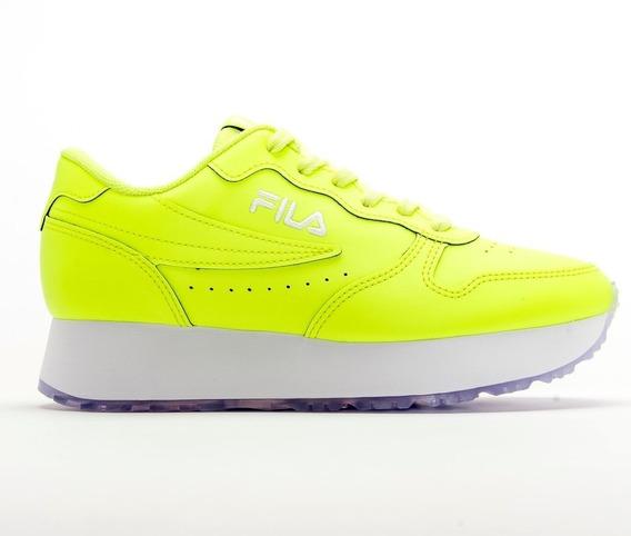 Zapatillas Fila De Mujer F-euro Jogger Wedge