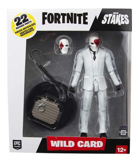Fortnite Figura Lujo Wild Red 17 Cm Int 10613 Orig Muñeco