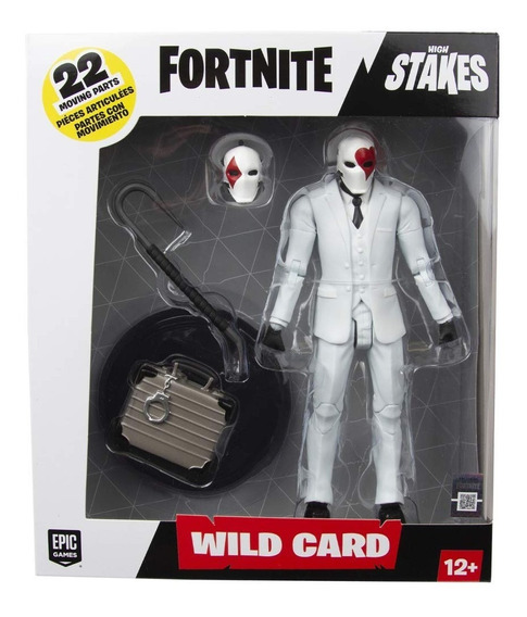 Fortnite Figura Lujo Wild Red 17 Cm Int 10613 Orig Muñeco
