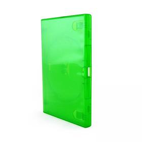 Box Dvd Caixa Amaray Verde Simples 10 Unidades Envio Rapido