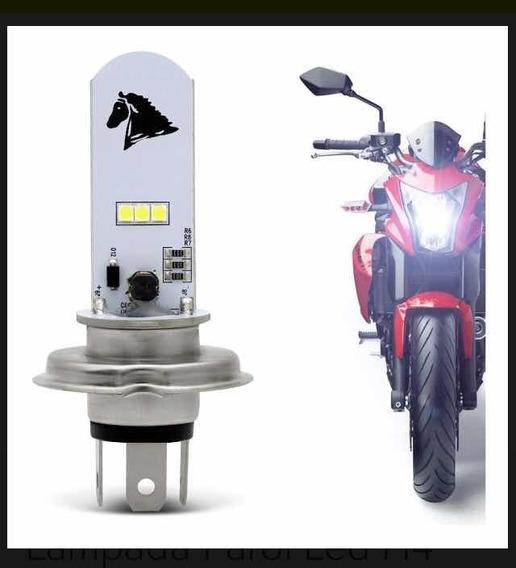 Lâmpada Led Farol Universal Moto E Carro