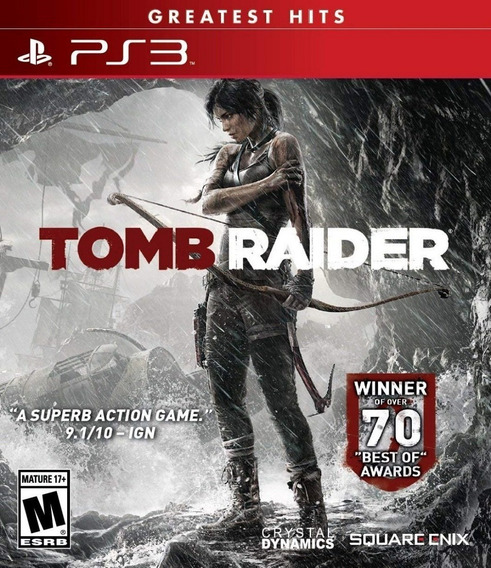 Tomb Raider Ps3 2013 Legenda Portugues Brasil