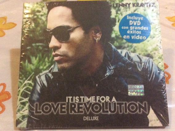 Cd Lenny Kravitz It Is Time For A Love Revolution Deluxe+dvd