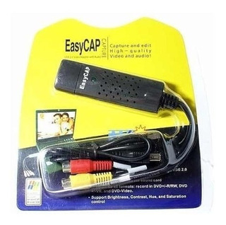 Tarjeta Dvr Capturadora De Video Rca Svideo A Usb 2.0