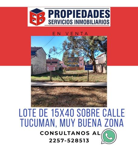 Imagen 1 de 4 de Lote Sobre Av Tucuman Zona Comercial San Bernardo