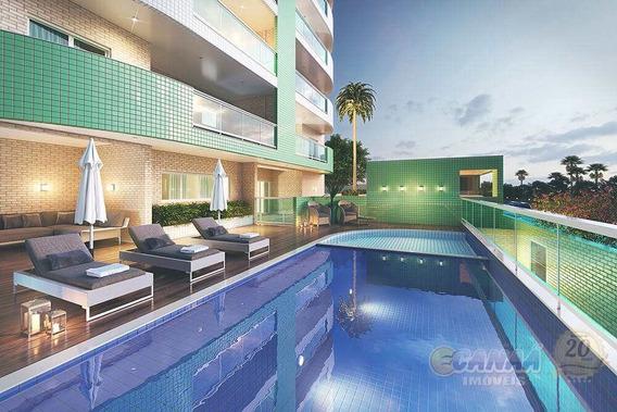 Apartamento Com 2 Dormitórios Itanhaém - R$ 436 Mil, Cod: 7435 - V7435