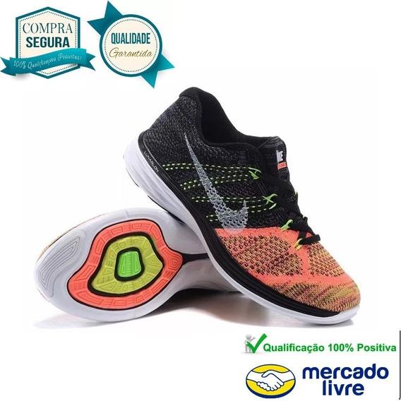 Tênis Nike Flyknit Lunar 3 Original