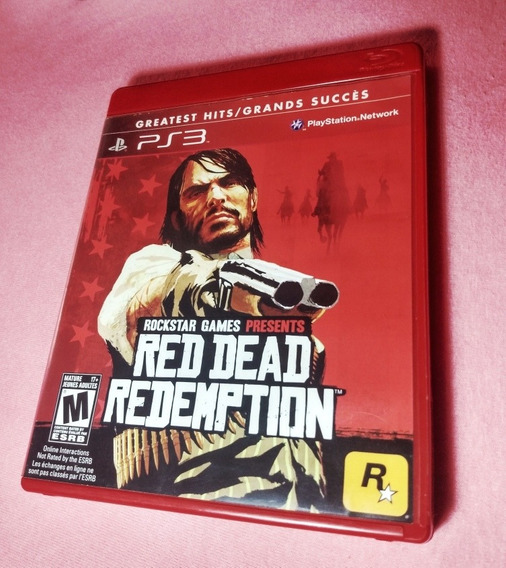 Red Dead Redemption-ps3 Mídia Física
