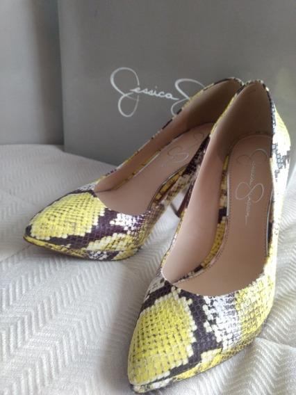Zapatilla Jessica Simpson Lemon Snake Print