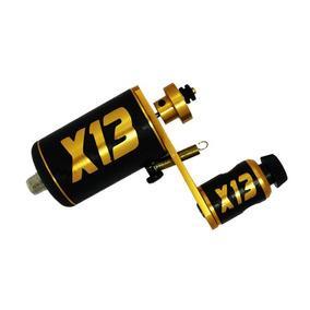 Máquina Rotativa X13 Gold Tattoo Tatuagem Traço Lançamento