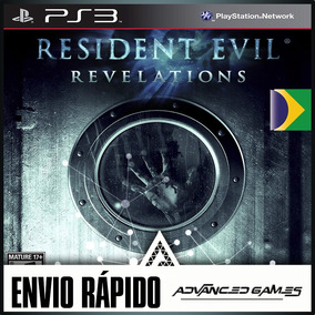 Resident Evil Revelations Leg Portugues - Jogos Ps3 Psn