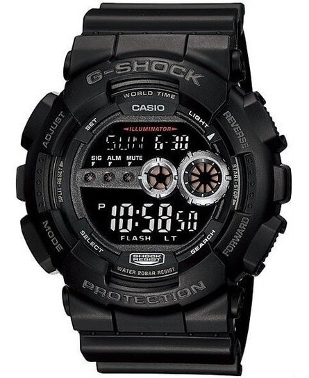 Relogio Casio G-shock Gd-100gb-1dr Digital Preto Original