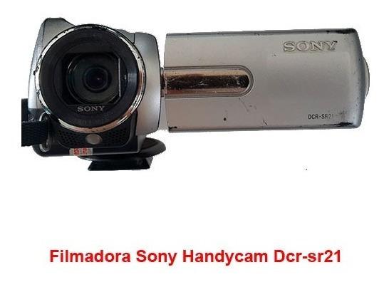 Câmera Sony Handycam Dcr-sr21 (problema No Hd)